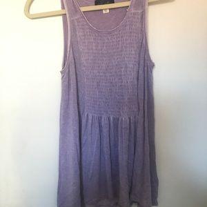(Francesca's) lilac purple sleeveless top / tank